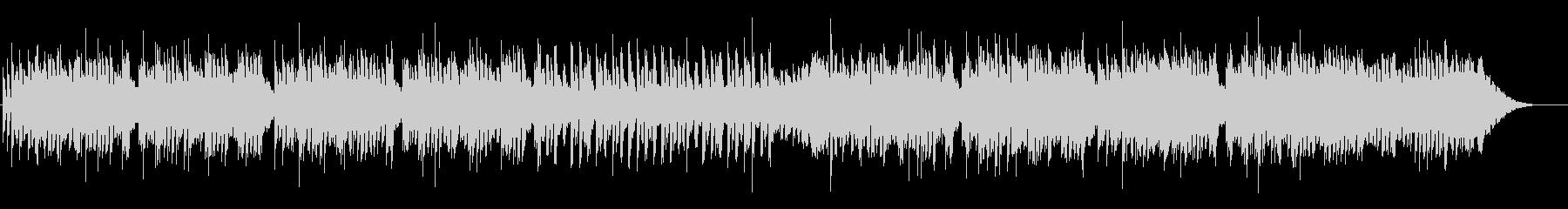 オルゴールとストリングのシンプルな曲の未再生の波形