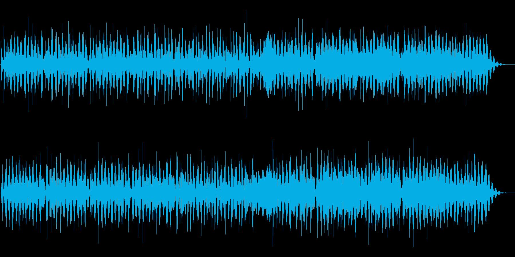 オルゴールとストリングのシンプルな曲の再生済みの波形