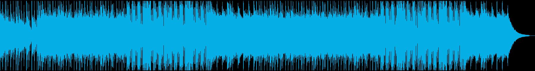 Hip Hop Beatの再生済みの波形
