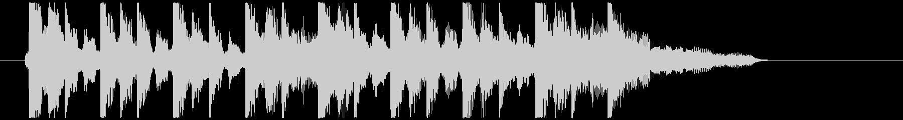 アコギ主体の爽やかCM風の未再生の波形