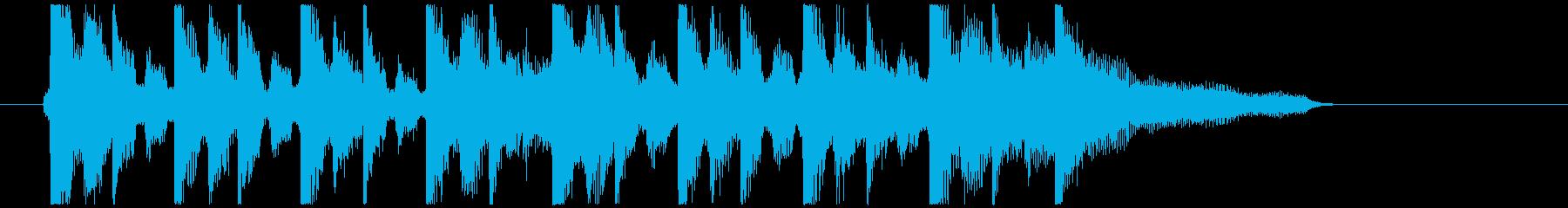アコギ主体の爽やかCM風の再生済みの波形