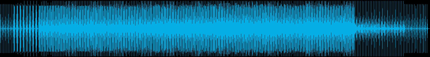 ダンスフロア、華麗。の再生済みの波形