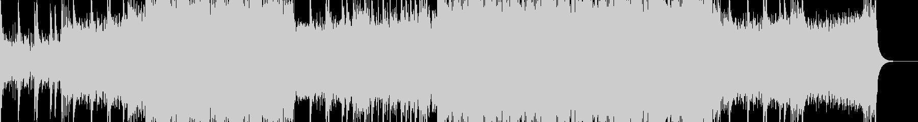 シンプルなロックの未再生の波形