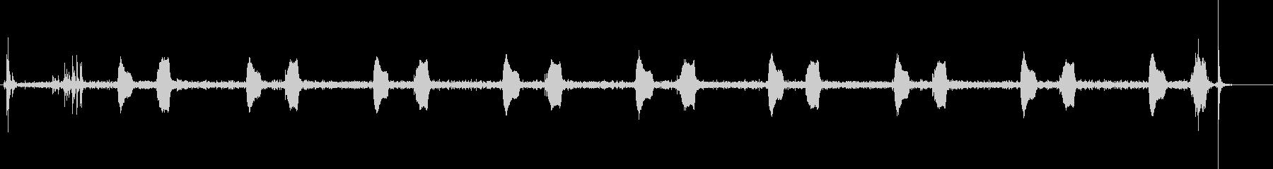 鳩時計1:ストライクナインオクロッ...の未再生の波形