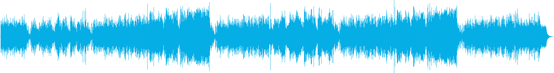 A song like the wind that blows through the Champs Elysees's reproduced waveform