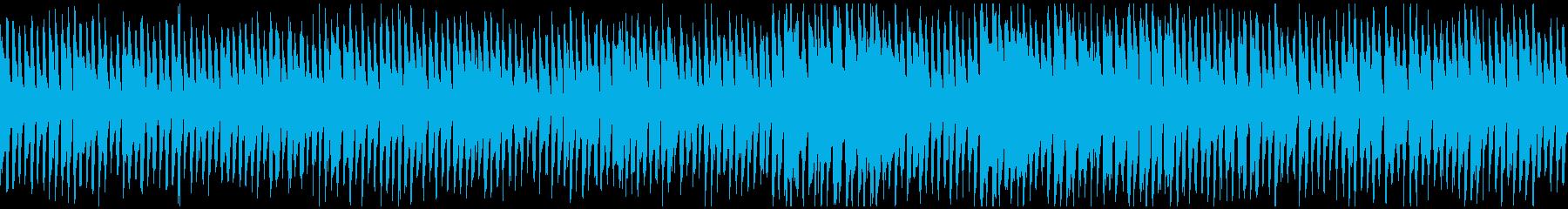 明るい楽しいリコーダー、遠足 ※ループ版の再生済みの波形