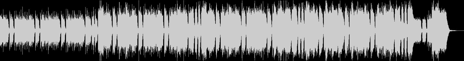 パワフルハイテンションUKロックリフbの未再生の波形