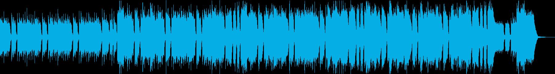 パワフルハイテンションUKロックリフbの再生済みの波形
