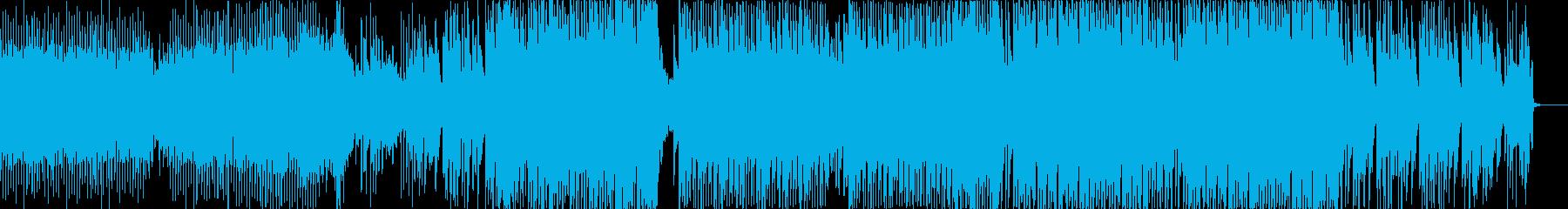 不気味なジャングルテラー、EDMの再生済みの波形