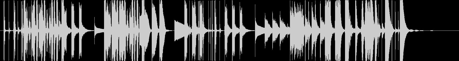 プロダクトCMフューチャーベース風の未再生の波形