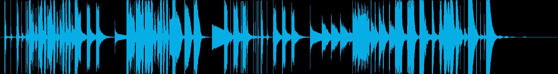 プロダクトCMフューチャーベース風の再生済みの波形