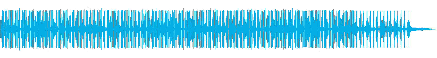 ゆったりとしたポップなBGMの再生済みの波形