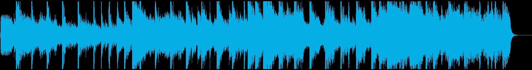 カントリー風ハーモニカとドブロのジングルの再生済みの波形