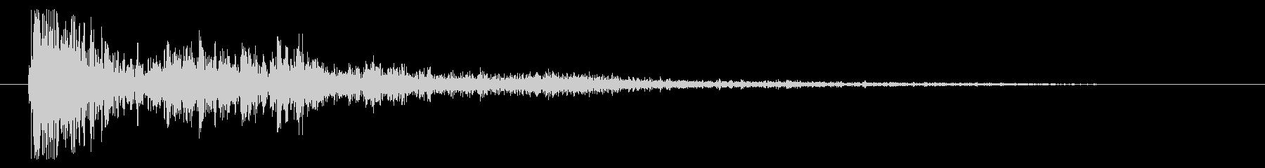 砲兵 ヘビークローズ03の未再生の波形