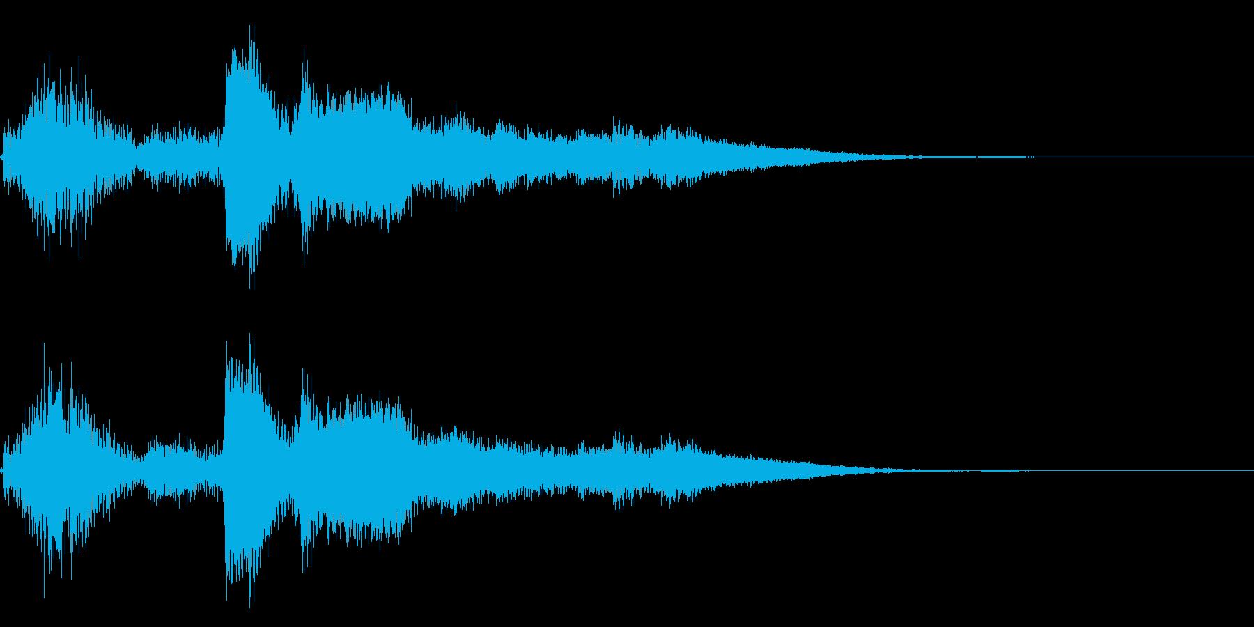 コイン!レジ ショップ アイテムゲット9の再生済みの波形