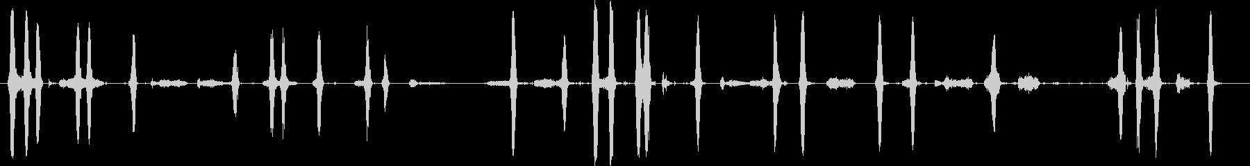 犬、樹皮、SN、動物、2つのバージ...の未再生の波形