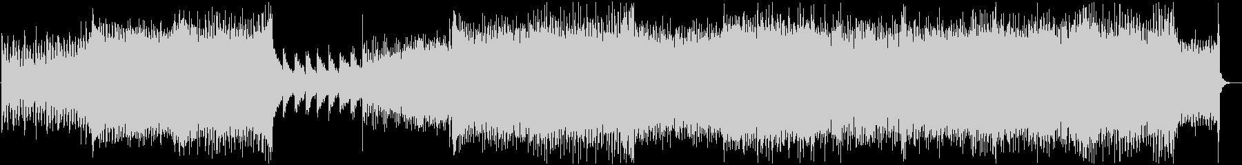 ぴこぴこサウンドなEDMの未再生の波形