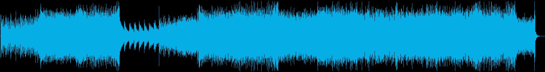 ぴこぴこサウンドなEDMの再生済みの波形