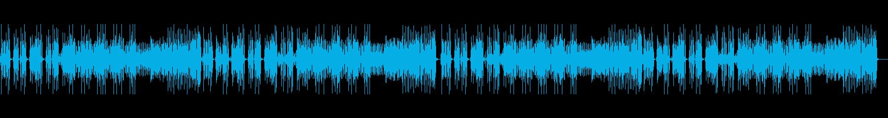 トーク・クールで少しやんちゃなファンクの再生済みの波形