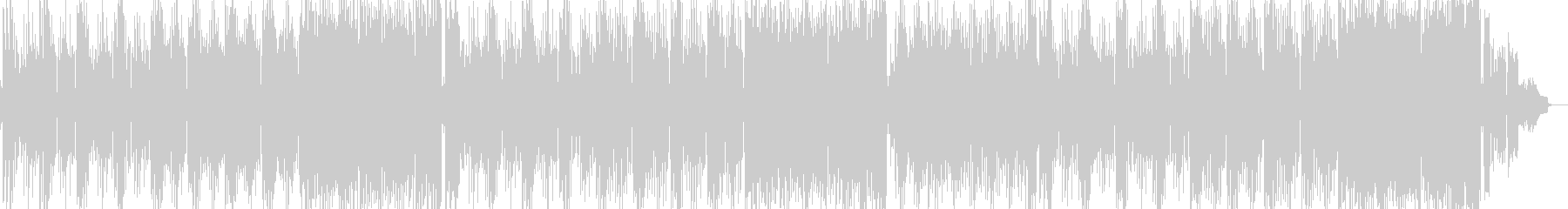ガレージHipHopギター曲の未再生の波形