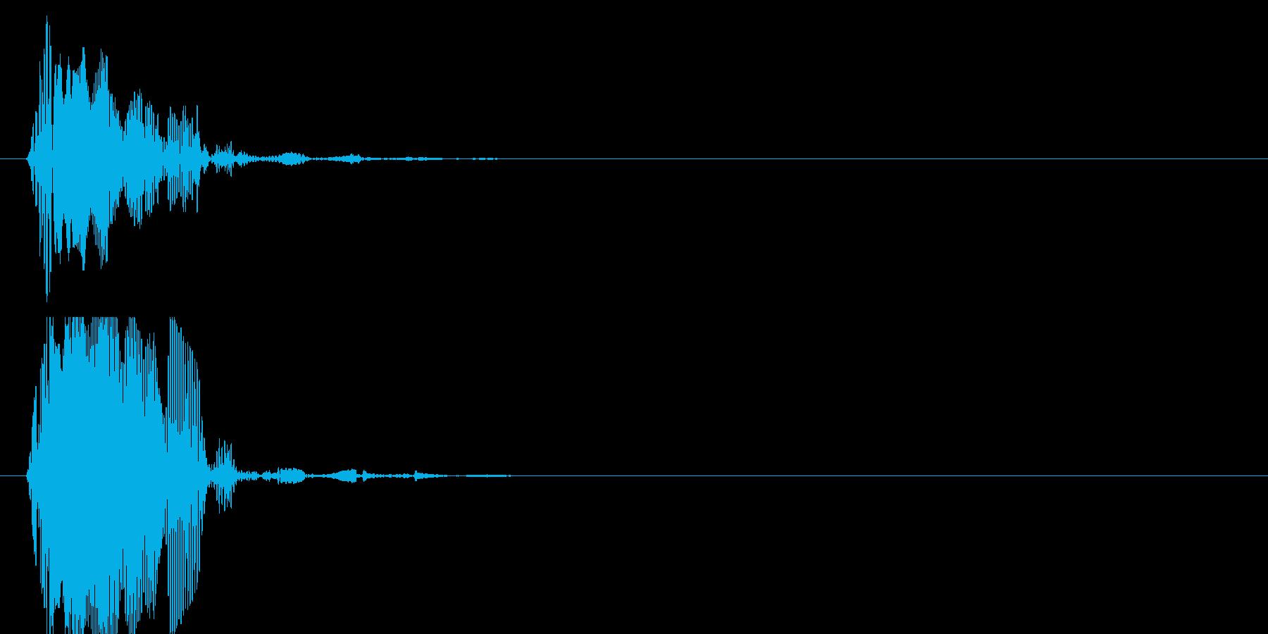 ぶォーン、トゥットゥッ(衝撃波)の再生済みの波形