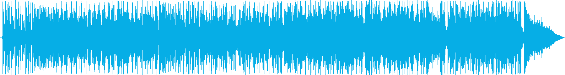 バイオリンをフィーチャーしたハウス曲の再生済みの波形