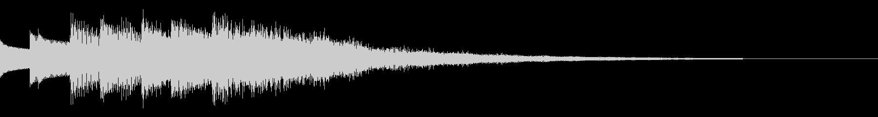 RPG風_回復魔法音1の未再生の波形