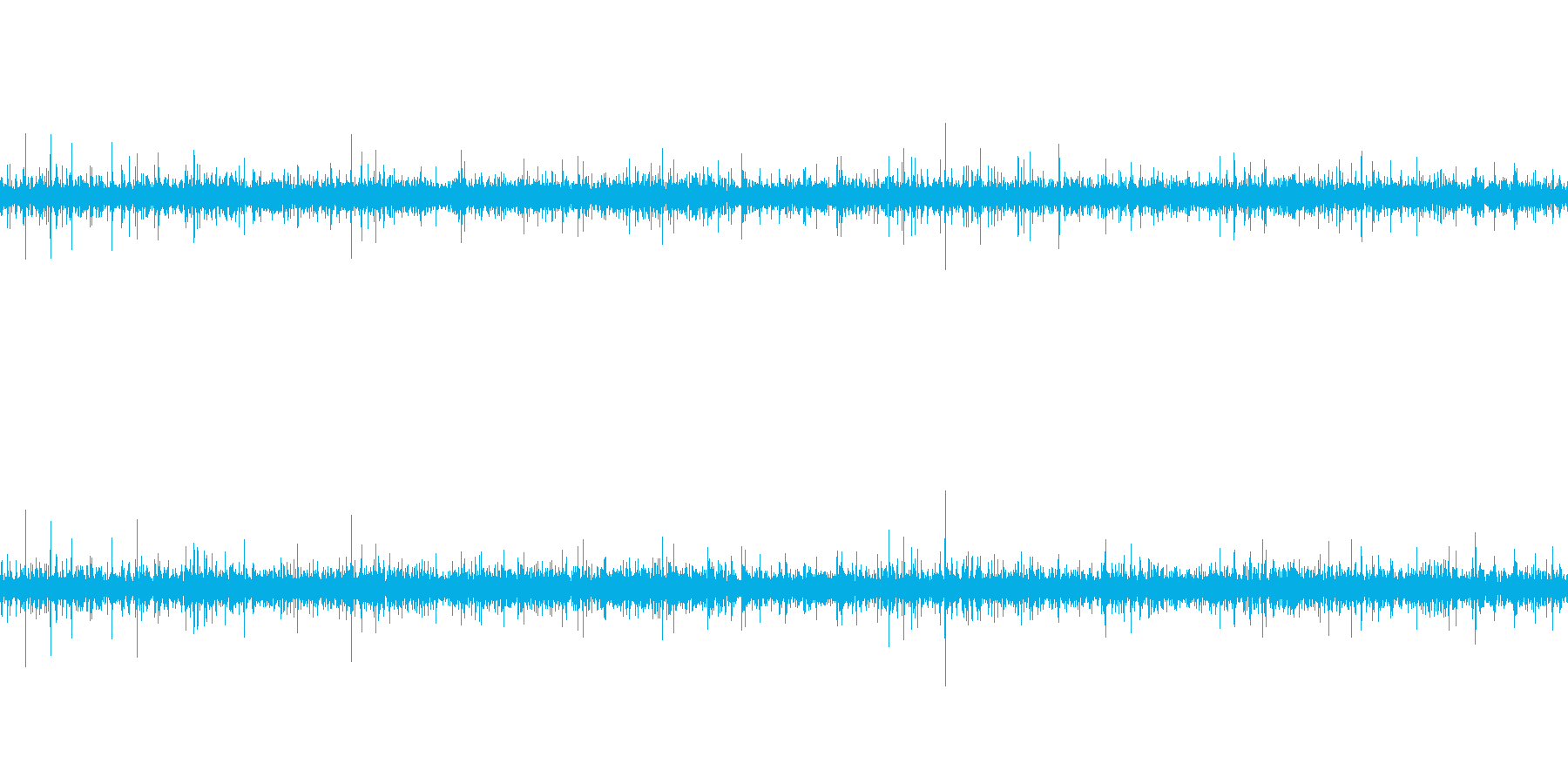 川の源流・小川・せせらぎ_01(ループ)の再生済みの波形
