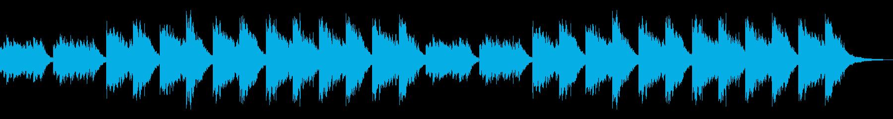 観察日記の再生済みの波形