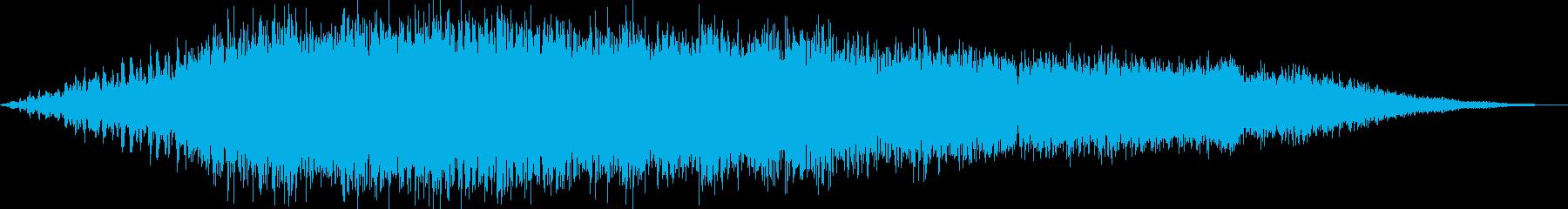 アンビエント 実験的な ゆっくり ...の再生済みの波形