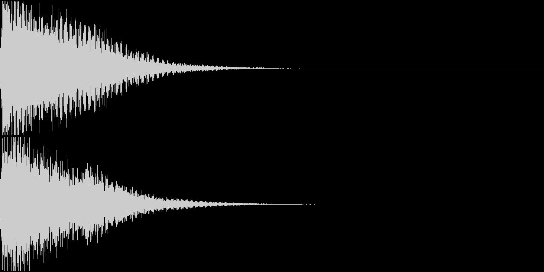 ロボット 合体 ガシーン キュイン 31の未再生の波形