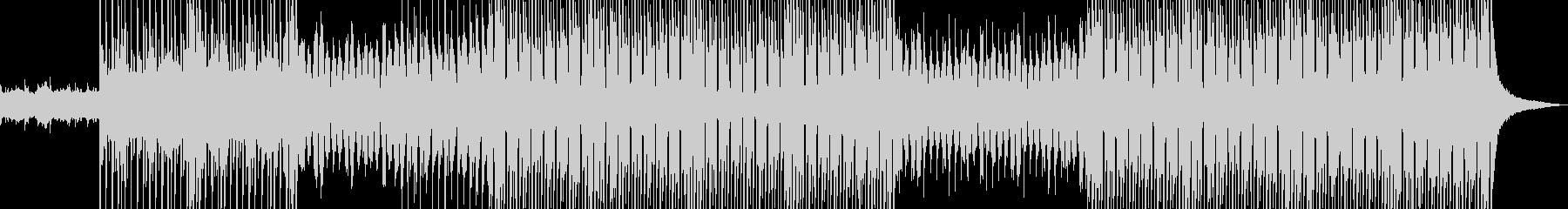 切ないメロディが印象的なポップスの未再生の波形