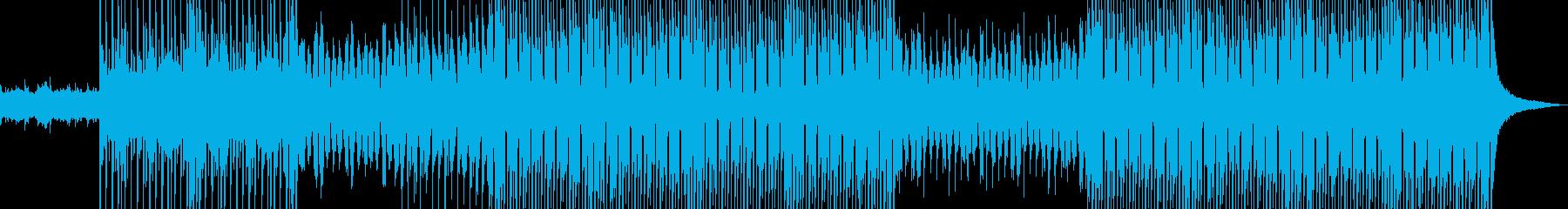 切ないメロディが印象的なポップスの再生済みの波形
