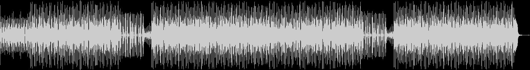 ベースが印象的なミクスチャー・ロックの未再生の波形