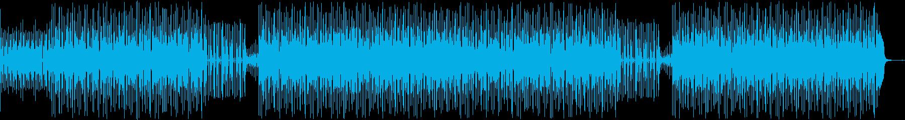 ベースが印象的なミクスチャー・ロックの再生済みの波形
