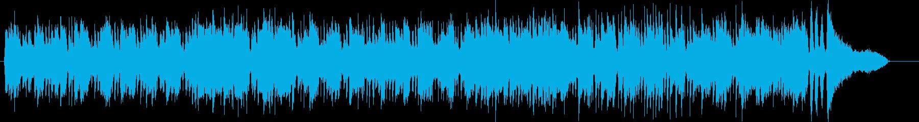 レコード/シンプル/ロック/ブルースの再生済みの波形