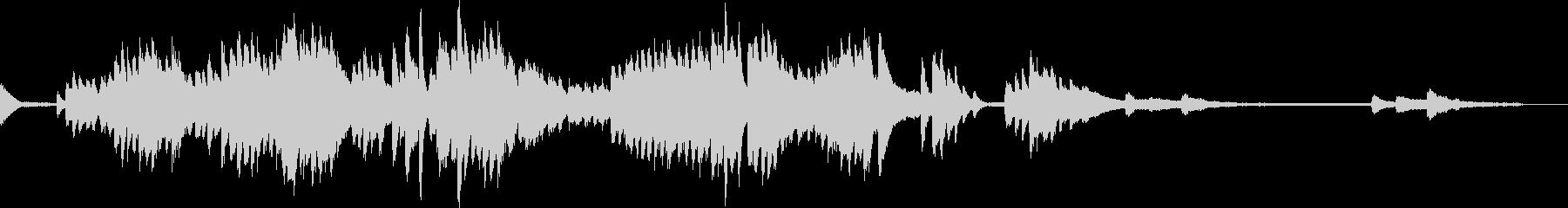 ショパンのプレリュードOp28のNo11の未再生の波形