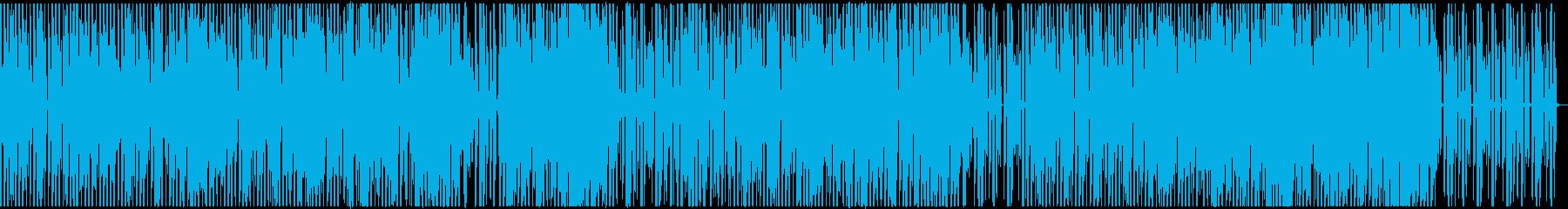 【歌】ミニマル×英詩女性ボーカルポップスの再生済みの波形