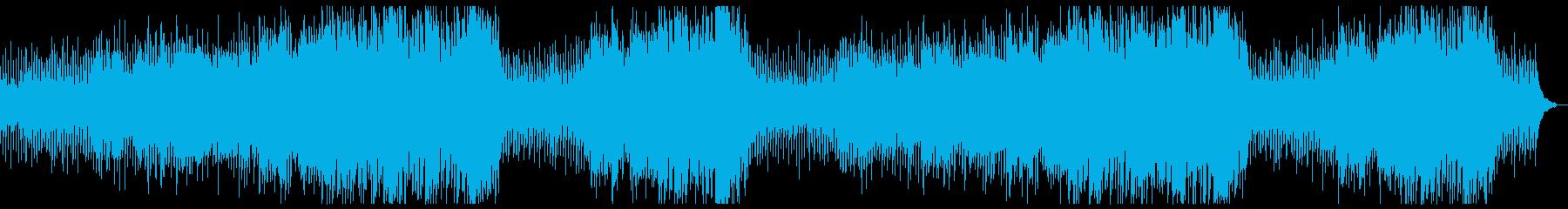 時間の経過・優しい思い出:フルx2の再生済みの波形