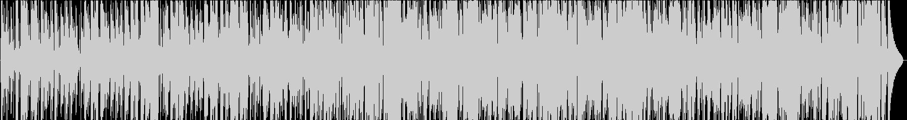 スローなジャズの未再生の波形