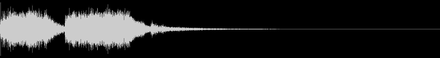 テーレッテレー2/レベルアップ、クリア時の未再生の波形