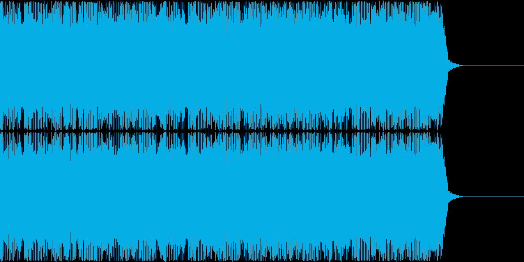 コミカルなゲームのBGM、15秒CM等の再生済みの波形
