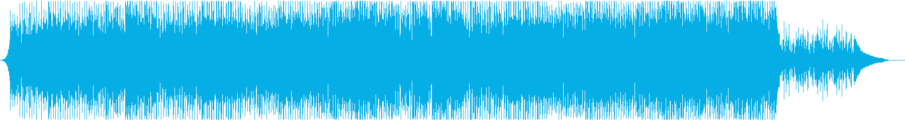 ピアノでリズミカルの再生済みの波形