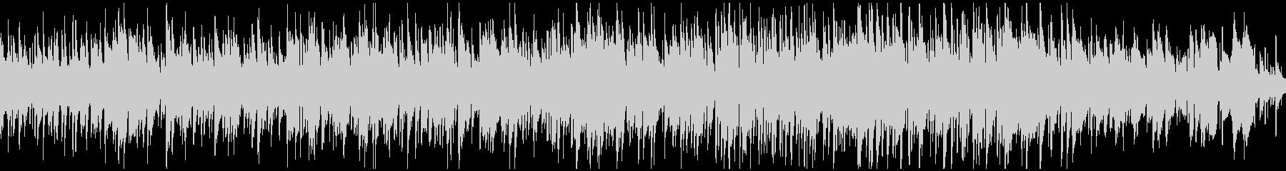 メロディアスで穏やかなボサノバ※ループ版の未再生の波形