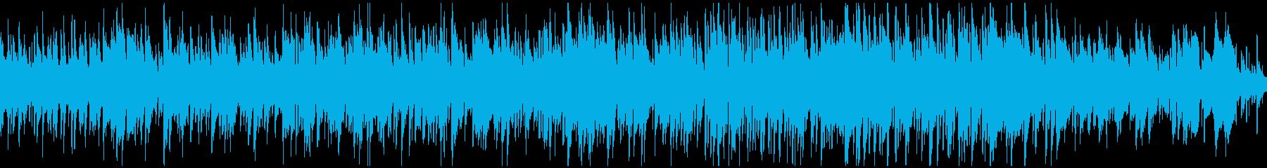 メロディアスで穏やかなボサノバ※ループ版の再生済みの波形