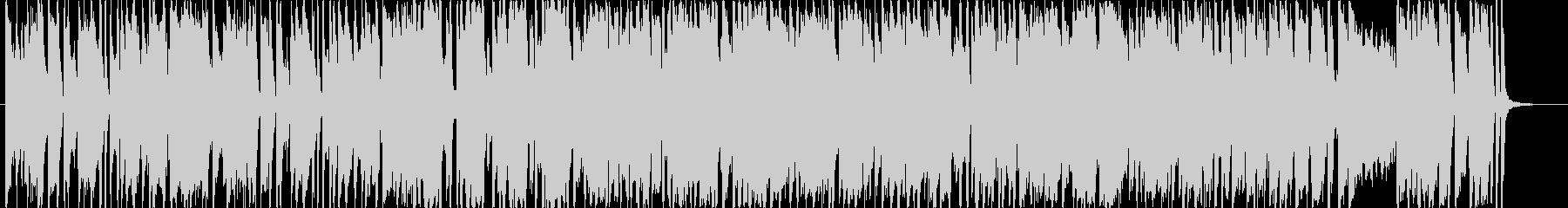 明るいポップス ゲーム機のピコピコ音の未再生の波形