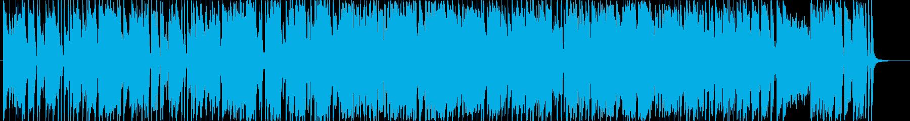 明るいポップス ゲーム機のピコピコ音の再生済みの波形