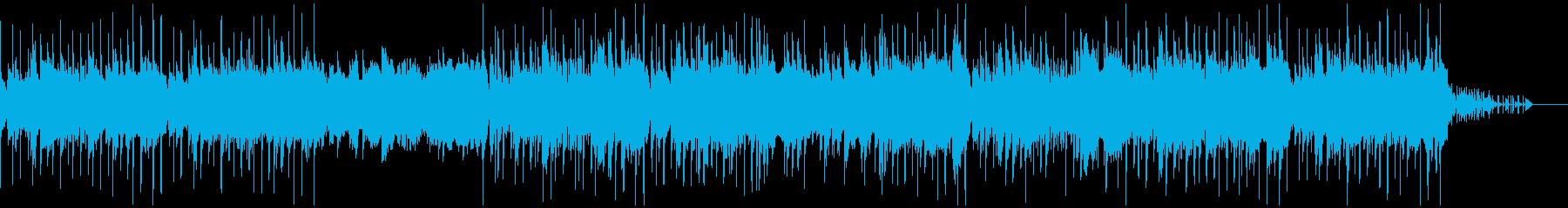 シンセを使ったスペイシーなエレクトロニカの再生済みの波形