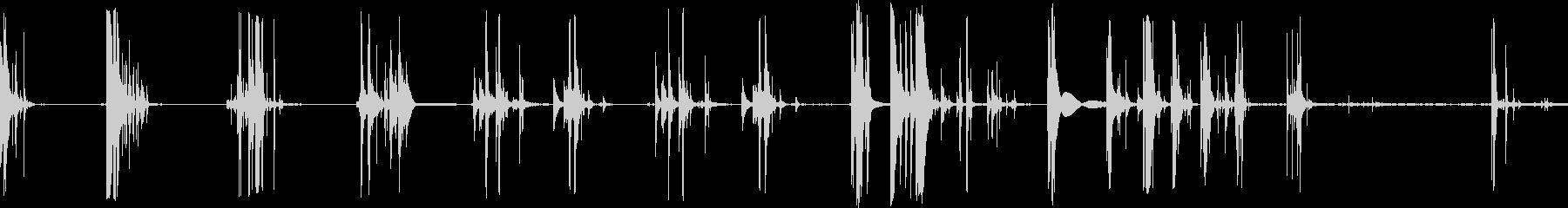 アイスドロップカップの未再生の波形