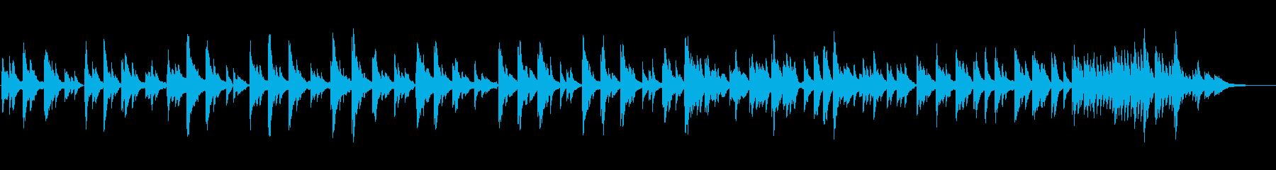 生ピアノソロ・金木犀香る夜の再生済みの波形